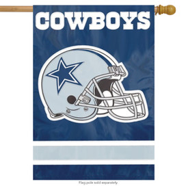 Dallas Cowboys Licensed NFL House Flag