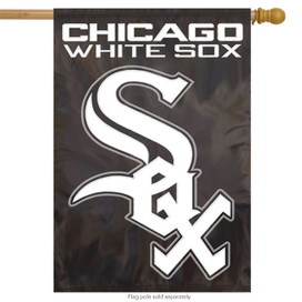 Chicago White Sox Applique Embroidered Banner Flag MLB