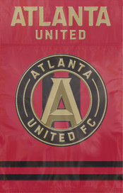 Atlanta United Applique House Flag