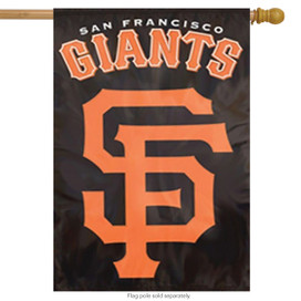 San Francisco Giants Applique & Embroidered Banner Flag MLB