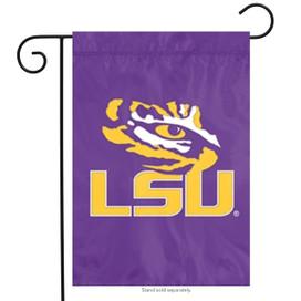 Louisiana State University Applique Garden Flag