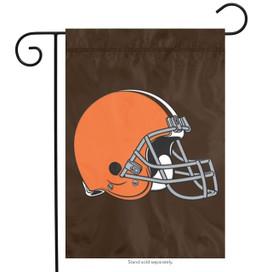 Cleveland Browns Applique Garden Flag