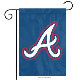 Atlanta Braves Applique Garden Flag