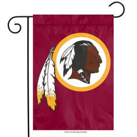 Washington Redskins Applique Garden Flag
