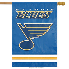 St. Louis Blues Applique Banner House Flag