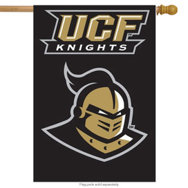 UCF Knights Licensed NCAA Applique House Flag