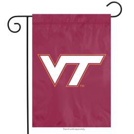 Virginia Tech Hokies Applique Garden Flag