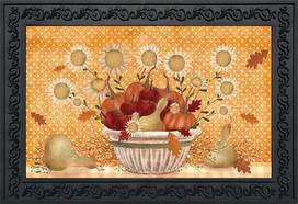 Harvest Bounty Autumn Doormat