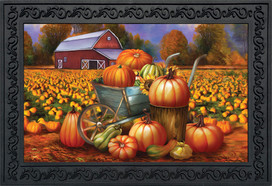 Pumpkin Farm Fall Doormat