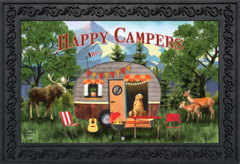 Great Outdoors Camper Fall Doormat