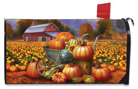 Pumpkin Farm Fall Mailbox Cover