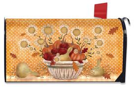 Harvest Bounty Autumn Mailbox Cover