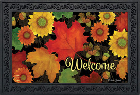 Fall Foliage Welcome Doormat