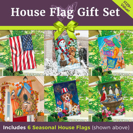 The Ultimate House Flag Gift Set (6 Designs)