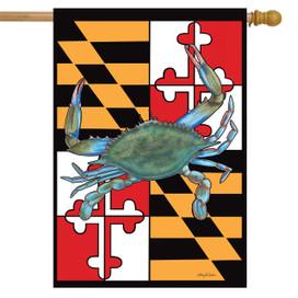 Maryland Summer House Flag
