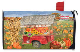 Pumpkins For Sale Autumn Mailbox Cover