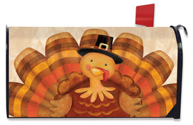 Thanksgiving Turkey Mailbox Cover
