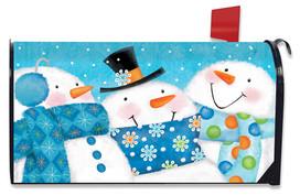 Snow Buds Winter Mailbox Cover
