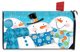 Snow Buds Winter Mailbox Cover