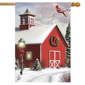 As Winter Calls House Flag