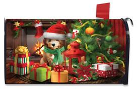 Waiting For Santa Christmas Mailbox Cover