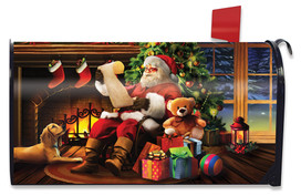 Naughty or Nice Christmas Large / Oversized Mailbox Cover