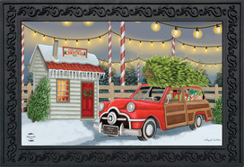 Home For Christmas Doormat