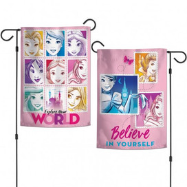 Disney Princesses Explore Your World Garden Flag