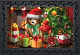 Waiting For Santa Christmas Doormat