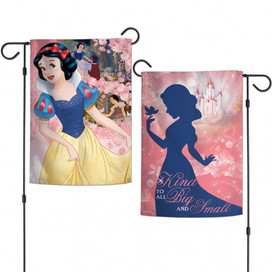 Snow White Fairest In The Land Garden Flag