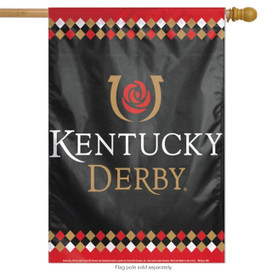 Kentucky Derby Large House Flag