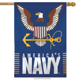 United States Navy America House Flag