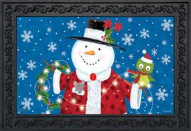 Snow Day Cheer Christmas Doormat