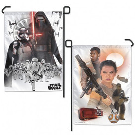 Star Wars New Trilogy Poster Garden Flag