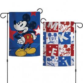 Americana Mickey Mouse Garden Flag
