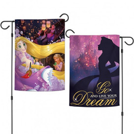 Rapunzel Go Live Your Dream Garden Flag