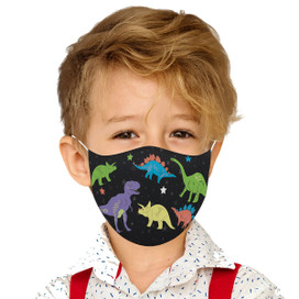 Dinosaurs Reusable Cloth Children's Size Face Mask