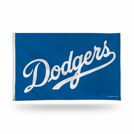 Los Angeles Dodgers Script MLB Grommet Flag