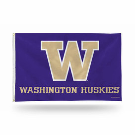 University of Washington Huskies NCAA Grommet Flag