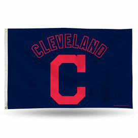 """Cleveland Indians """"C"""" Logo MLB Grommet Flag"""