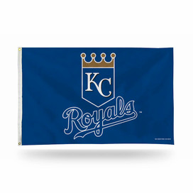 Kansas City Royals Shield Logo MLB Grommet Flag