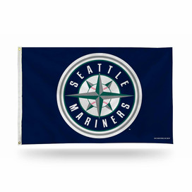 Seattle Mariners MLB Grommet Flag