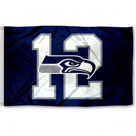 Seattle Seahawks #12 NFL Grommet Flag