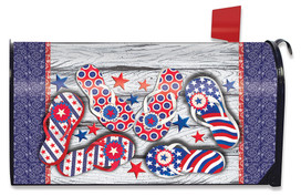 Freedom Flip Flops Summer Mailbox Cover