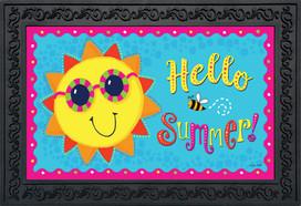 Hello Summer Sun Doormat