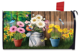 Spring Jubilee Floral Mailbox Cover