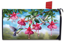 Flight Of The Hummingbirds Spring Mailbox Cover