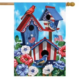 American Birdhouses Summer House Flag