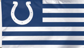 Indianapolis Colts NFL Deluxe Grommet Flag