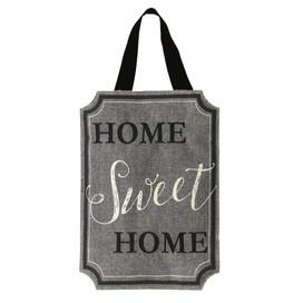 Home Sweet Home Burlap Door Hanger